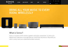 sonos as home theater system sonos website fonts in use