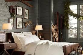 chambre color dco maison chambre de chalet de montagne aux tons gris cabin