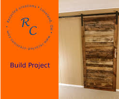 Make Barn Door by How To Make An Up Cycled Pallet Wood Sliding Barn Door 5 Steps