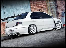 mitsubishi lancer evo viii cars sedan modified wallpaper hd car