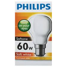 cheapest place to buy light bulbs buy philips softone bayonet light bulb 60w white 1pk online at