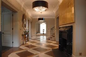 Hallway Lights Lighting Ideas Flush Mount Lights On Wooden Hallway Ceiling For