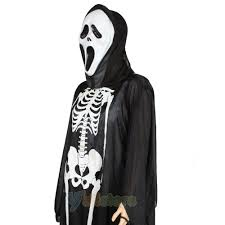 scream halloween costumes kids ghost scream movie ghost face cloak scary halloween
