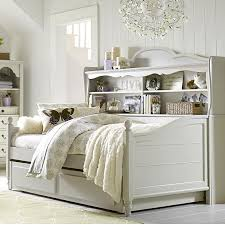 Trundle Bed With Bookcase Headboard Twin Westport Bookcase Daybed With Trundle Storage Drawer By