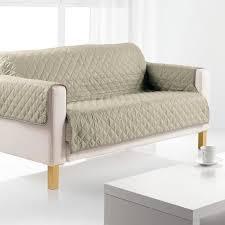 protège canapé protège canapé 3 places argile achat vente housse de canape