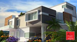 home design architects modern contemporary style two floor chennai home design by ns 11
