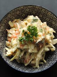 midi en recettes cuisine midi cuisine coleslaw au tofu soyeux et aux cajous recette légère