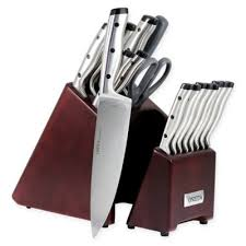 oneida kitchen knives buy stainless steel knife block set from bed bath beyond