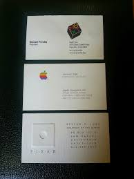 Business Card For Ceo Got 3 000 You Could Buy Steve Jobs U0027 Business Cards