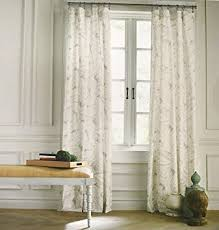 Beige And Gray Curtains Hilfiger Mission Paisley Scrolls Boteh Pattern