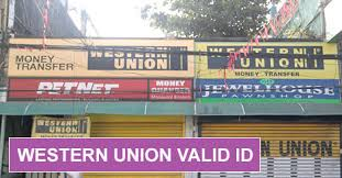 Western Union Philippines Requirements And Valid Id List Bureau Western Union