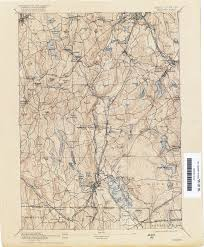 Massachusetts On A Map Rhode Island Historical Topographic Maps Perry Castañeda Map