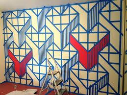 geometric wall paint designs diy alternatux com colorful paint