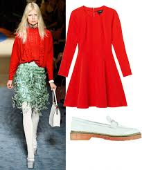 Blue And Red Color Combination Color Combinations How To Wear Red And Green