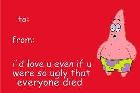 spongebob s day card