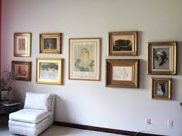 chris saper u0027s blog how to create a unified gallery wall of art in