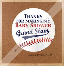 baseball baby shower stickers sports sticker all star baby