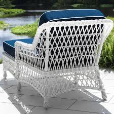 White Resin Wicker Patio Furniture - everglades white resin wicker patio chaise lounge by lakeview
