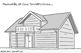House Needs by Linus Torvald U0027s House Comic Dzone Security