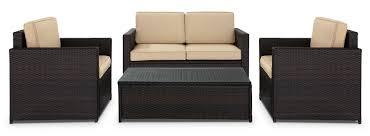 Palm Harbor Patio Furniture Palm Harbor 4 Piece Conversation Set Leon U0027s