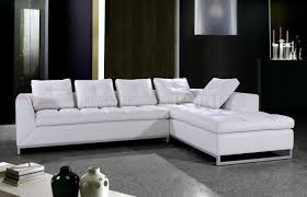 White Leather Tufted Sofa by Nice Fabric Leather Sofa With Sofa With Leather And Fabric