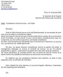 Une Lettre De Motivation Blabla B La Lettre De Motivation B Tableau De Français