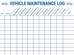 Truck Maintenance Spreadsheet by The 25 Best Vehicle Maintenance Log Ideas On Auto