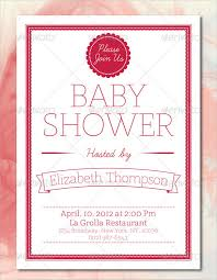 baby shower cards 9 baby shower card template free sles exles formats