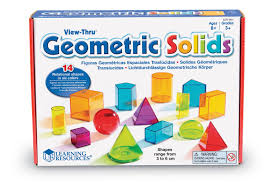 learning resources view thru colourful geometric shapes amazon co