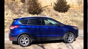 Ford Escape Blue - 2016 ford escape deep impact blue youtube