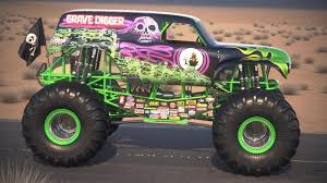 grave digger monster truck toys grave digger monster truck desert squir
