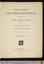 K He M El Kaufen Kindler Von Knobloch Julius Badische Historische Kommission