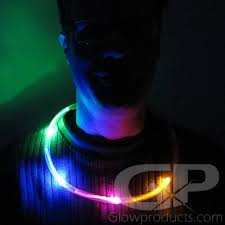 glow necklaces color chasing led glow necklaces glowproducts