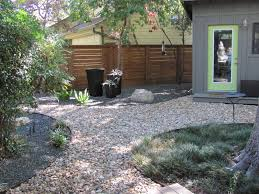 garden rocks ideas create a beautiful corner in the backyard of house with