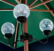 Outdoor Battery Operated Lights Patio Umbrella Lights Outdoor Battery Operated Umbrella Light