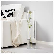 Glass Vase Cylinder Cylinder Vase Clear Glass 68 Cm Ikea