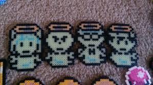 mother earthbound dead cast glow in the dark pixel art bead zoom