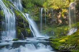 Art in nature spring rush raging waterfalls of the gifford pinchot