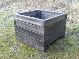 recycled plastic vegetable planter raised bed education