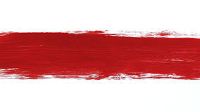 red paint paintbrush and red paint stroke stock video video of paintbrush