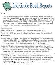 2nd grade book report template 3rd grade book report template 3rd grade book report ideas