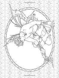 fairy mermaid coloring pages 76 best fantasy coloring pages images on pinterest coloring