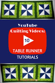 halloween table runner quilt pattern youtube quilting videos 10 table runner tutorials favequilts com