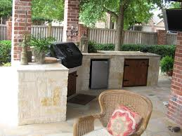 Outside Kitchen Island by Kitchen Interesting Small Outdoor Kitchen Decoration With Light