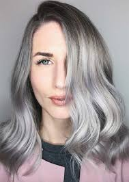 silver blonde haircolor silver hair trend 51 cool grey hair colors tips for going gray