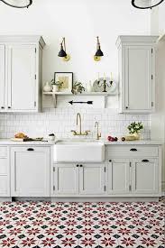 white kitchen design white kitchen designs 23 interesting ideas patterned tiles