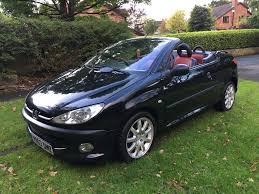 peugeot 206 convertible interior 2003 03 plate peugeot 206 cc 2 0 sport convertible 12 months mot