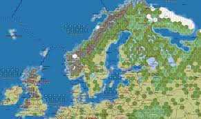 Map Northern Europe by Europe Map