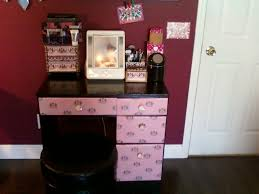 glass bedroom vanity 67 most superlative makeup desk with lights vanity table drawers