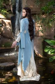 elvish style wedding dresses elven dress luthien tinuviel lord of the ring style dress for